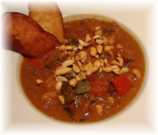 West African Peanut Stew | 5starsinyourkitchen's Blog